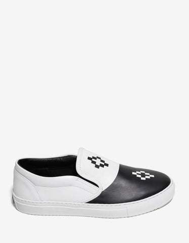 Marcelo Burlon Tao Two-Tone Slip-On Trainers