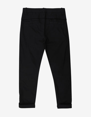 Marcelo Burlon Daniel Black Trousers