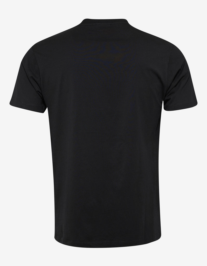 Dove Print Black T-Shirt