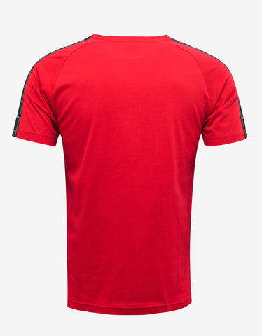 Marcelo Burlon Kappa Red T-Shirt