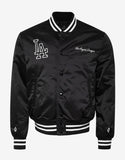 LA Dodgers Black Varsity Jacket