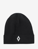 Cruz Black Beanie Hat