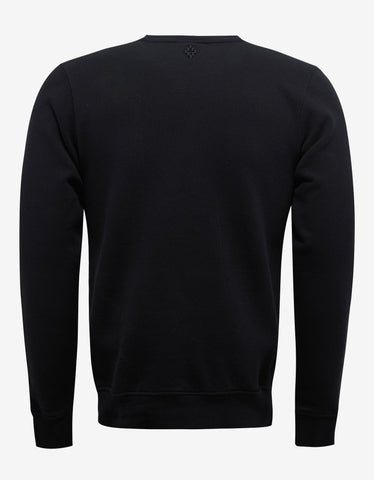 Marcelo Burlon Panguin Black Panther Print Sweatshirt
