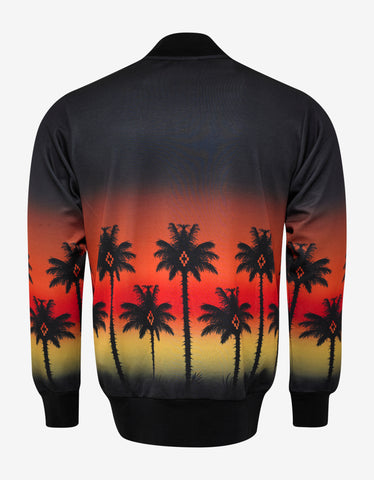 Marcelo Burlon Red Palm Track Jacket