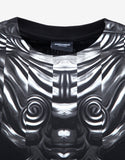 Romeo Black Graphic Print T-Shirt