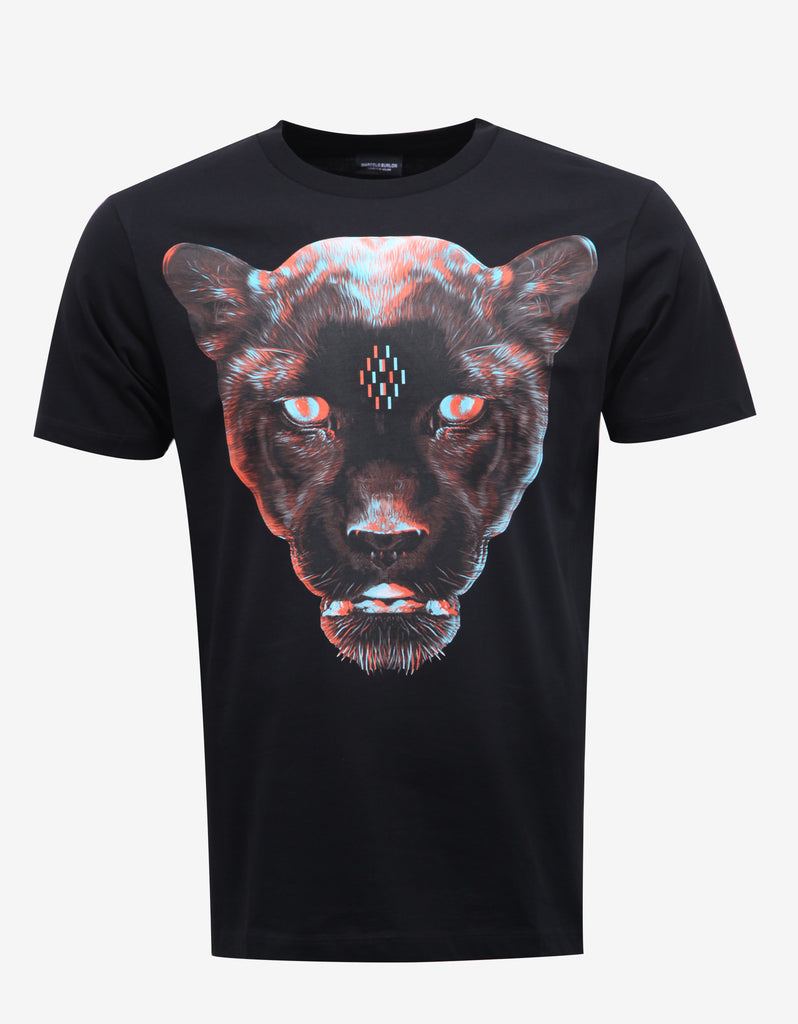 Rufo Black Panther Print T-Shirt