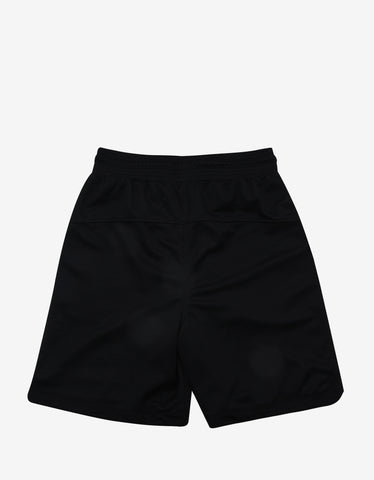 Marcelo Burlon Santos Black Sweat Shorts