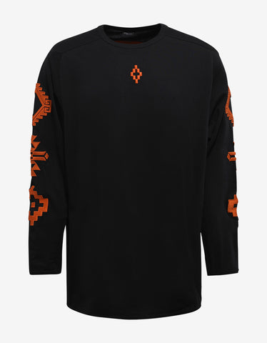 Marcelo Burlon Sierra Negra Graphic Long Sleeve T-Shirt