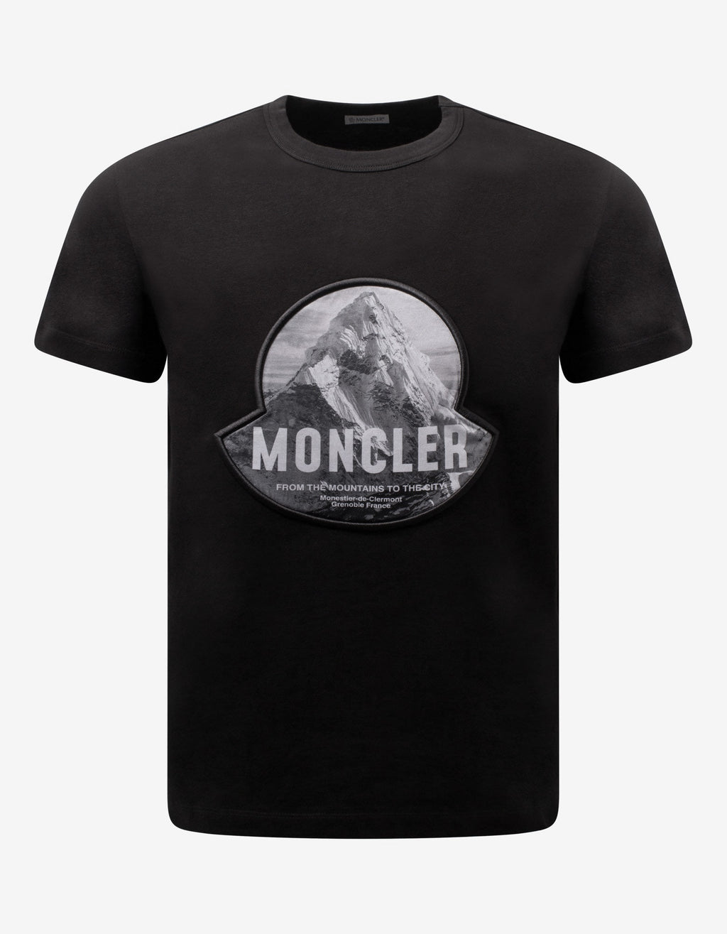 Black Mountain Print Logo T-Shirt