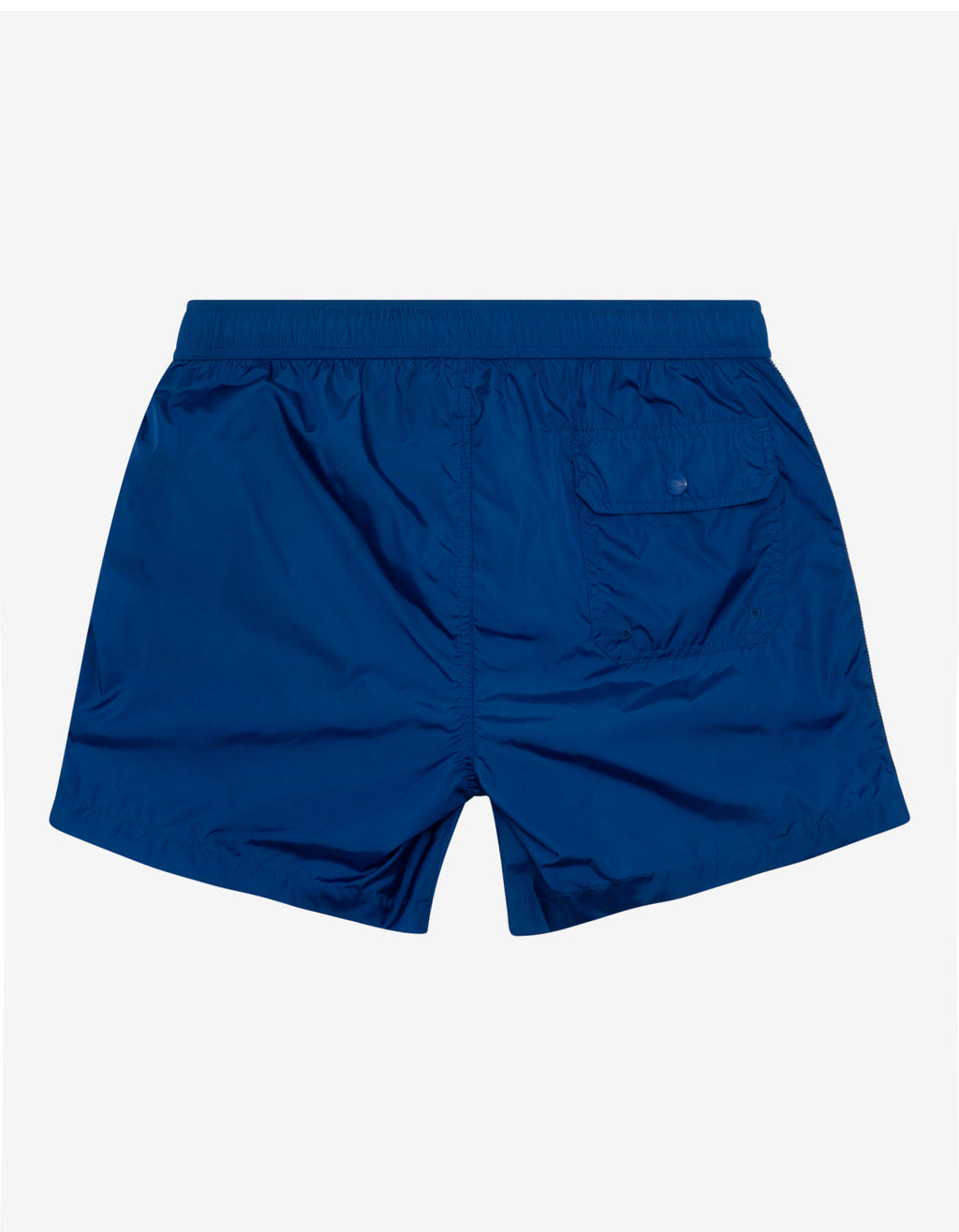 Blue Tricolour Seam Swim Shorts