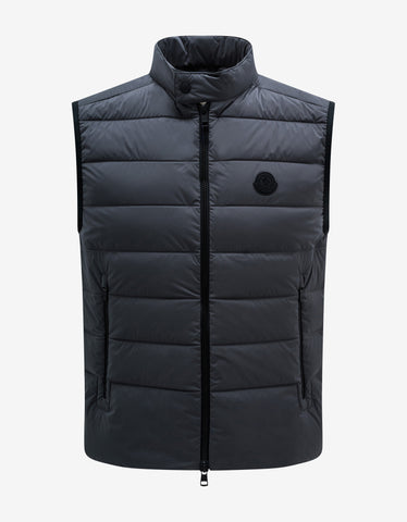 Neveu Black Nylon Down Jacket