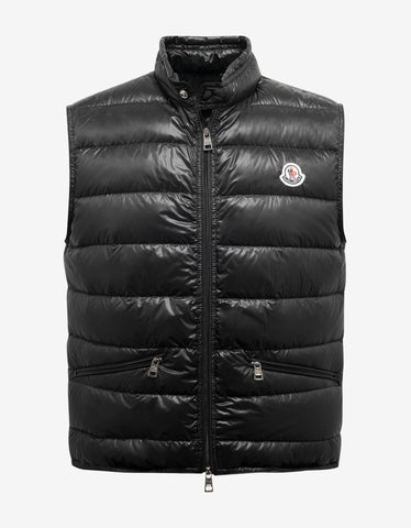 Khaki Quilted Down Jacket