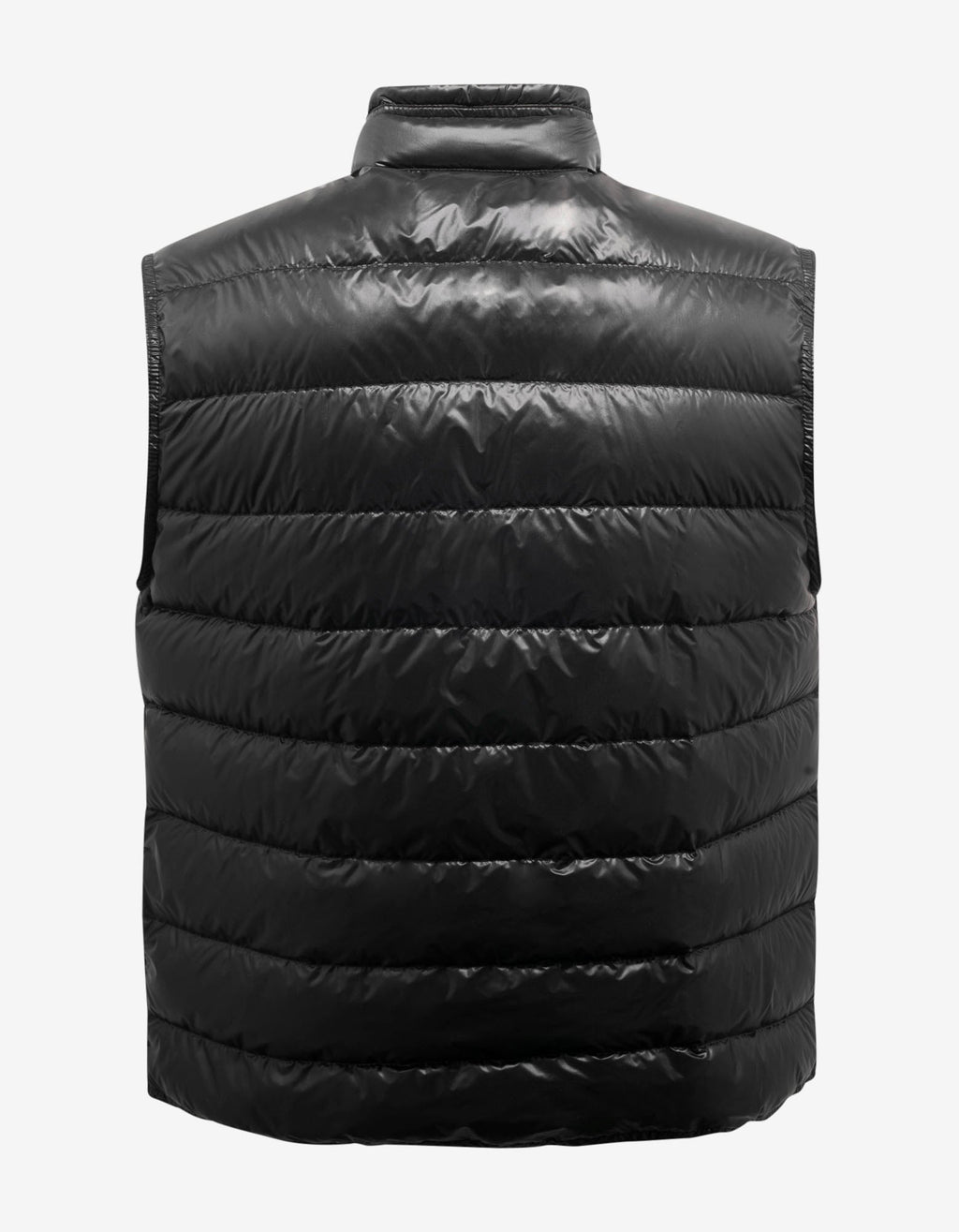 Gui Black Nylon Down Gilet
