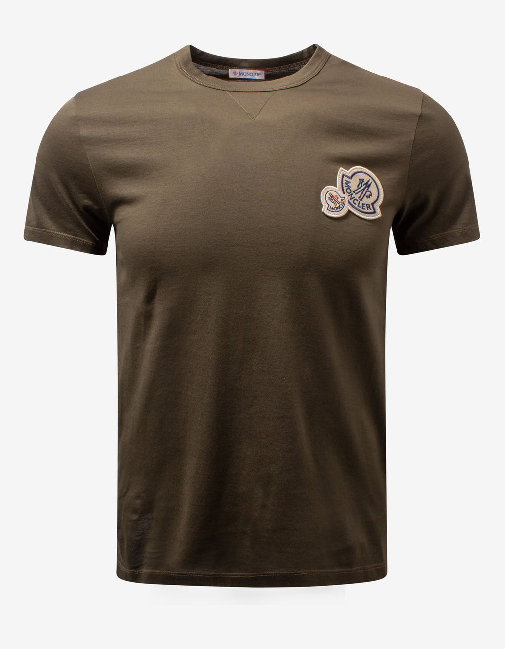 Khaki Double Logo T-Shirt