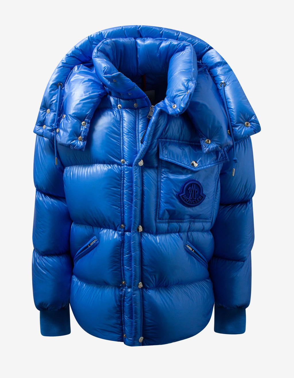 Lamentin Blue Nylon Down Jacket