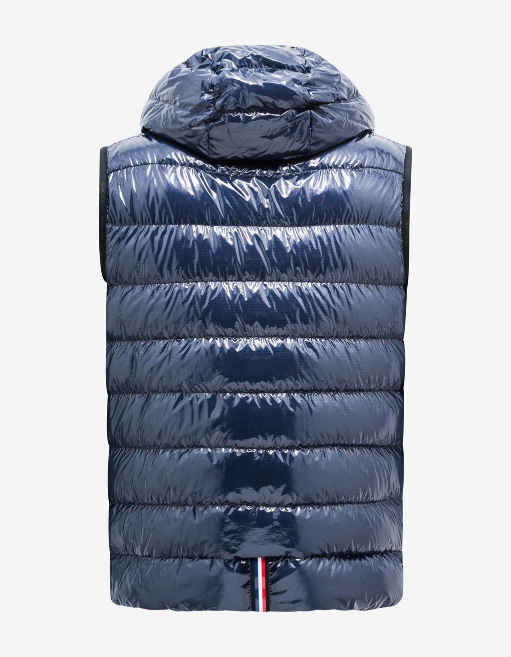 Lappe Navy Blue Nylon Down Gilet