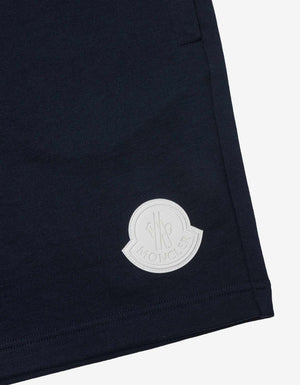 Navy Blue Logo Sweat Shorts