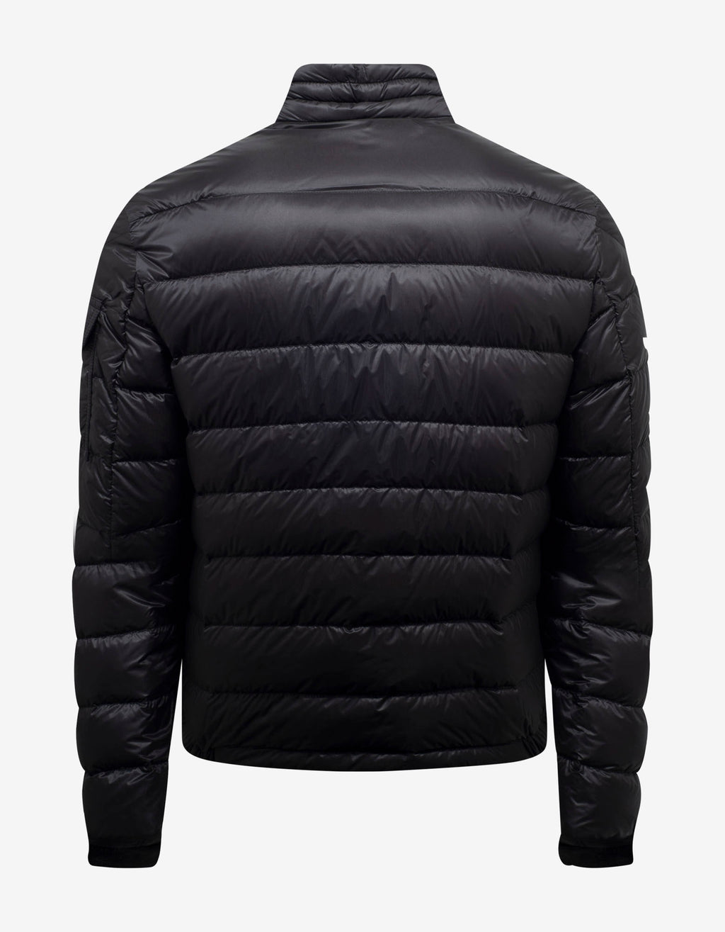 Agay Black Nylon Down Jacket