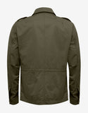 Auguste Khaki Field Jacket with Gilet Insert