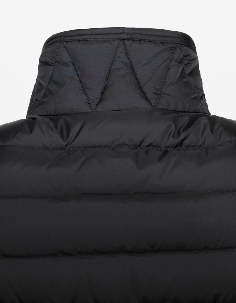 Athos Black Nylon Down Gilet