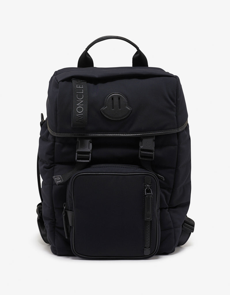 Moncler Chute Black Quilted Backpack – ZOOFASHIONS.COM d6a1eecfb2132