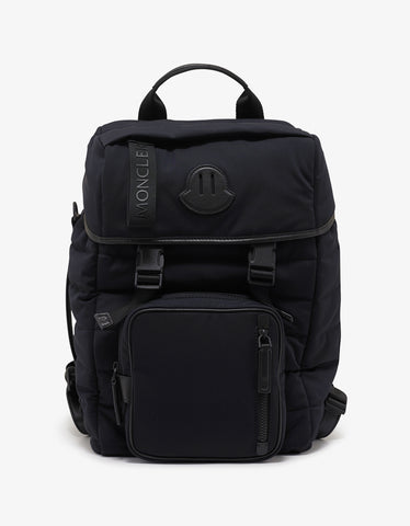 Moncler Chute Black Quilted Backpack