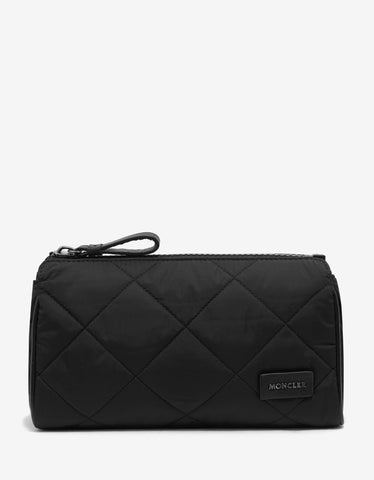 Black Quilted Pochette