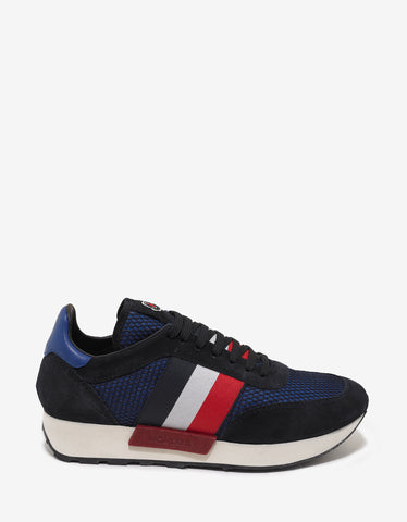 Moncler Blue Horace Trainers