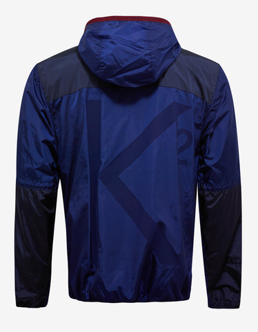 Moncler Eloi Blue Nylon Windbreaker