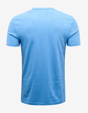Blue Logo Graphic T-Shirt