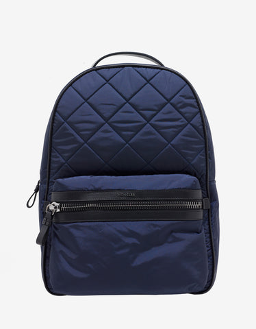 Moncler George Navy Blue Nylon Backpack