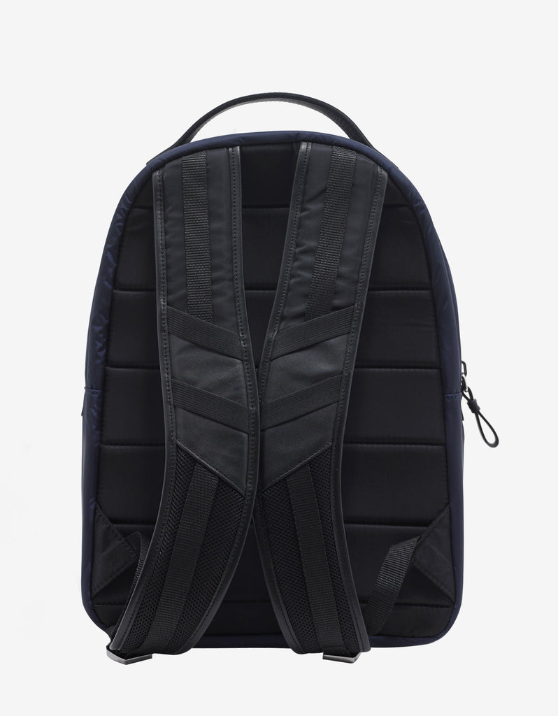 George Navy Blue Nylon Backpack