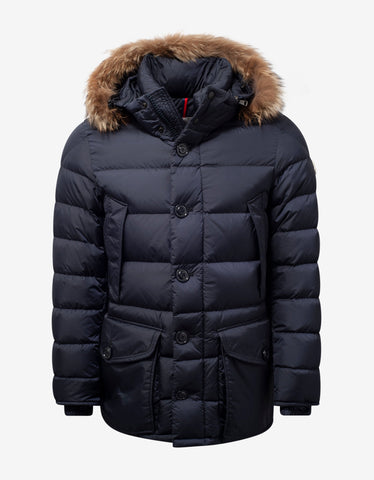 Ecrins Red Nylon Down Jacket