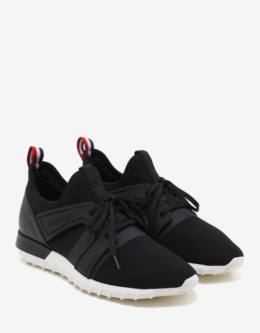 Moncler Emilien Black Running Trainers