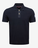 Navy Blue Piqué Polo T-Shirt