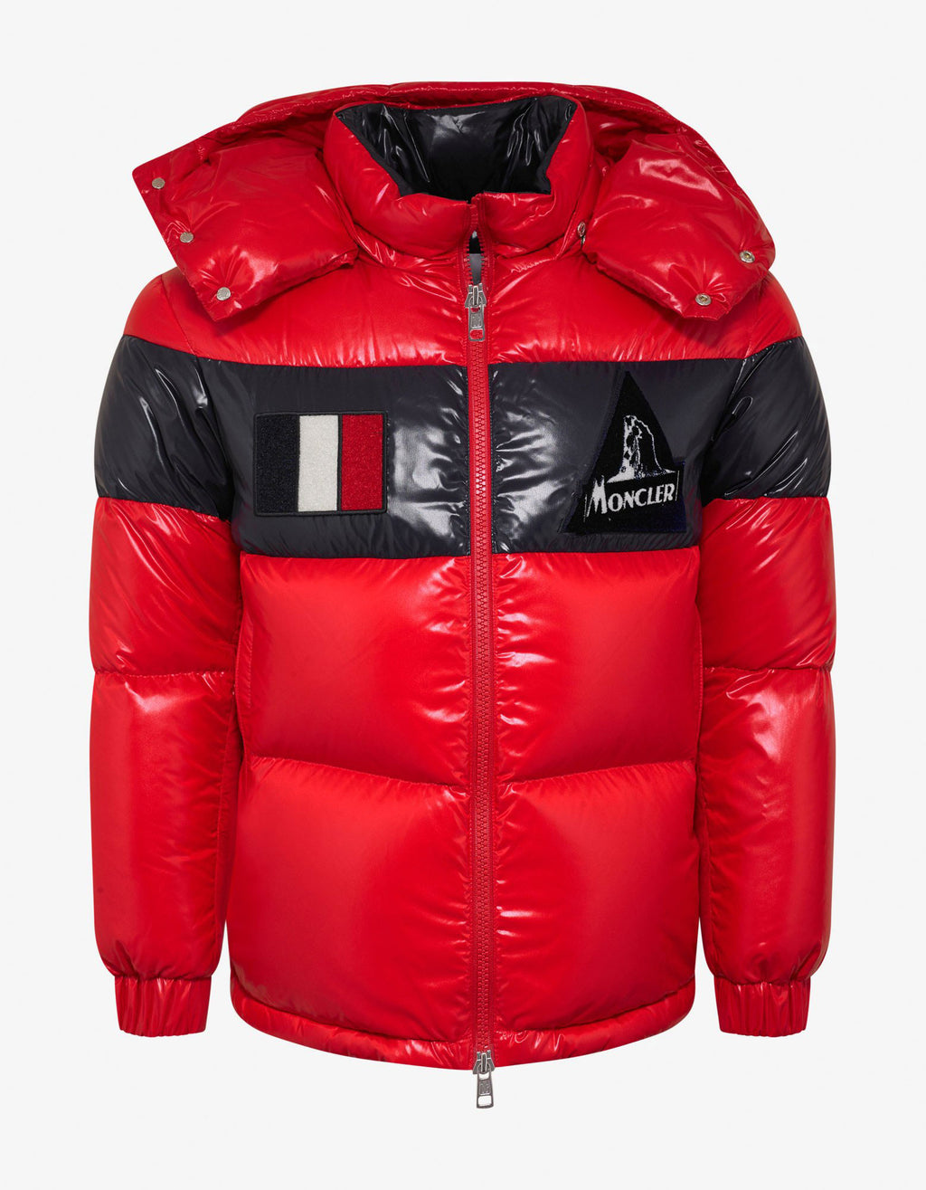 Gary Red Nylon Down Jacket