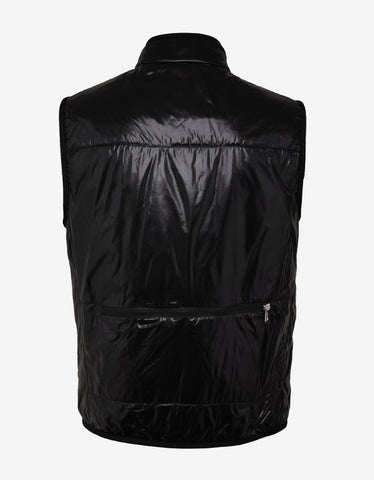 2 Moncler 1952 Fournier Black Nylon Down Gilet