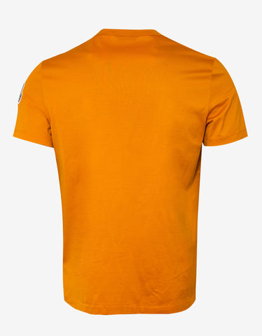 2 Moncler 1952 Orange Moncler Now Logo T-Shirt