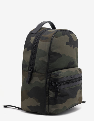 Moncler George Camouflage Nylon Backpack