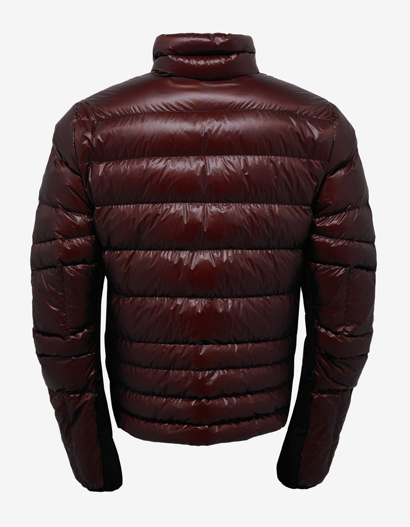 Canmore Burgundy Nylon Down Jacket