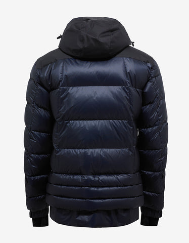 Moncler Grenoble Valberg Navy Blue Down Jacket