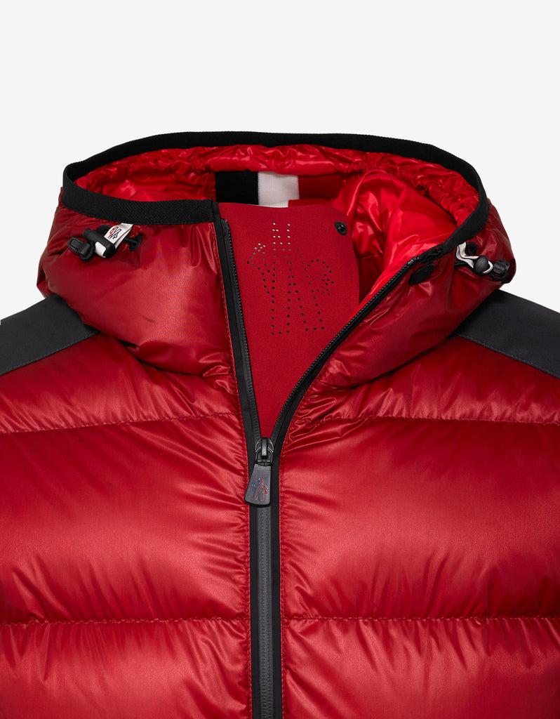 Moncler Grenoble Hintertux Red Nylon Down Jacket – ZOOFASHIONS.COM 89aff811a