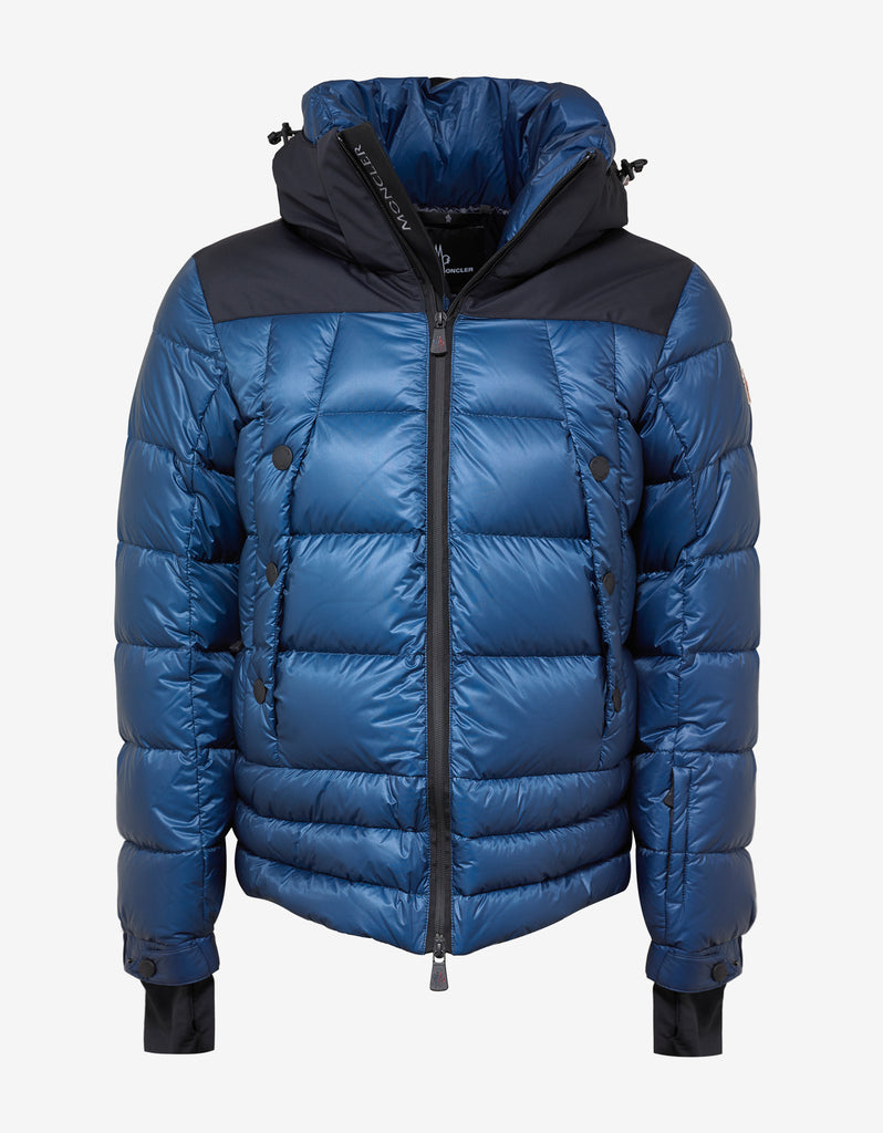 moncler grenoble funnel zip jacket