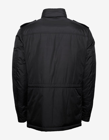 Moncler Guilland Black Down Field Jacket