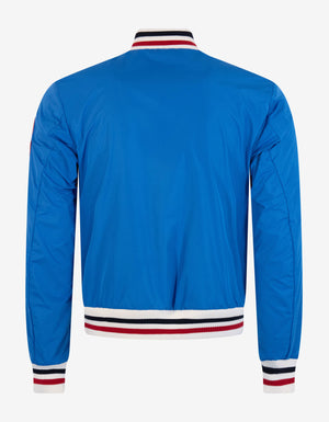 Huchet Blue Bomber Jacket