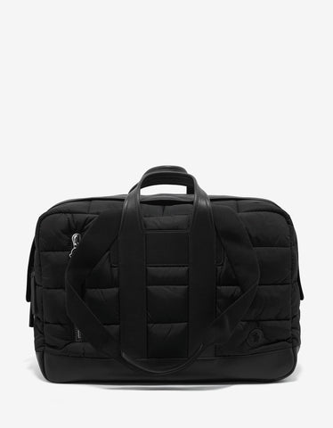 Moncler Keitu Black Quilted Nylon Holdall