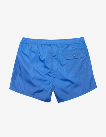 Moncler Light Blue Tricolour Seam Swim Shorts