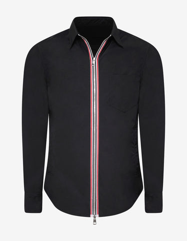 Moncler Maxville Navy Blue Shirt Jacket
