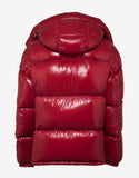 Montbeliard Red Nylon Down Jacket