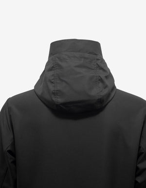 Mythos Black Logo Print Windbreaker